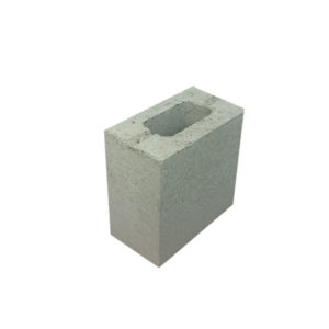 Concrete Grey Block Thick Wall Half 15.703 NSW