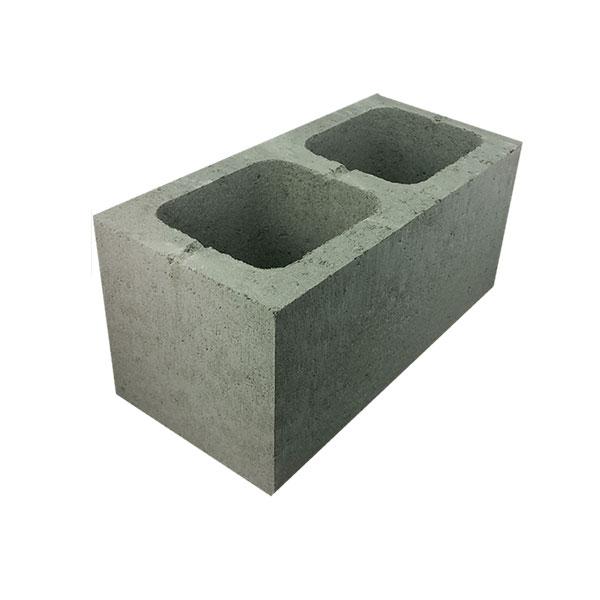 Reclaimed Concrete Blocks: National Masonry Concrete Grey Block Full Length Hollow 20